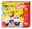 Amos IClay 3 Colour Modelling Clay - Cup Cake Kit
