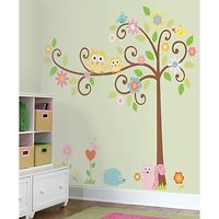 RoomMates Wall Stickers : Scroll Tree Mega Pack
