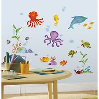 RoomMates Wall Stickers : Under The Sea