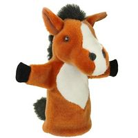 Glove Puppet - Brown Horse