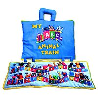 ABC Animal Train Play Bag