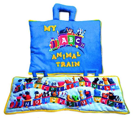ABC Animal Train Play Bag   ToyShop com au